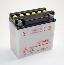 Batterie Moto Scooter 12N7-3B 12N73B YAMAHA SR XVS 125 500 NEUF