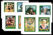 NRL RUGBY LEAGUE (1978) - GUM CARD/ POSTCARD SET # 2