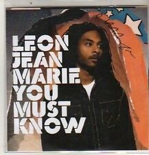 (DB628) Leon Jean Marie, You Must Know - DJ CD