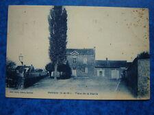 BOMBON  :  Place de la Mairie.......VO.1915.