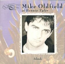 "45 TOURS / 7""--MIKE OLDFIELD FEAT BONNIE TYLER--ISLANDS / THE WIND CHIMES--1987"
