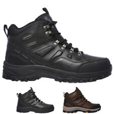Mens Skechers Relaxed Fit Relment Traven Hiking Running Ankle Boots All Sizes