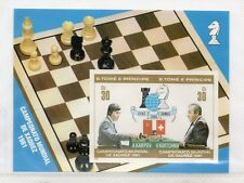 Santo Tome y Principe Campeonato Mundial de Ajedrez año 1981 (DR-117)