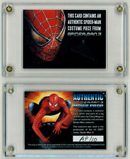 Spider-Man 3 Screen Used Prop Card ~ Tobey Maguire Costume Swatch