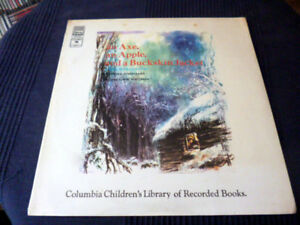 LP VINYL An Axe Apple A Bucksin Jacket Columbia Library Book Christmas Sundgaard