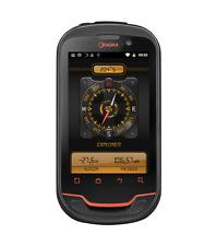 NGM WeMove Explorer Smartphone, Dual SIM, Nero/Giallo [Italia]