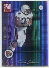 2001 Donruss Elite 120 Rudi Johnson Rookie 409/500