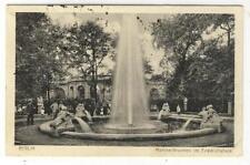 AK Berlin, Märchenbrunnen im Friedrichshain, 1927