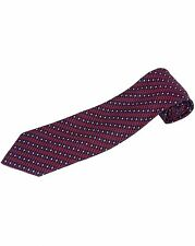 ZILLI - 100% Silk Tie Maroon 4919V03 MSRP $270