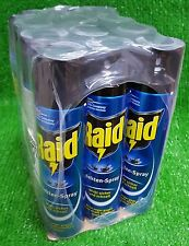 (9,17€/L) 1 Kiste mit 12 Dosen RAID  INSEKTEN -SPRAY Insektenspray 400 ml Dose