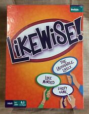 Likewise! Buffalo Games Party Games 3-6 Players Ages 14+ New Factory Sealed