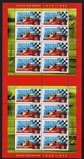Canada Stamps -Gutter Pane of 16 -Gilles Villeneuve, Race car Driver #1647 -MNH