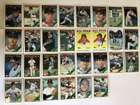 1988 DETROIT TIGERS Topps COMPLETE Baseball Team SET 30 Cards GIBSON TRAMMELL!