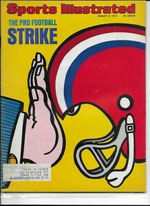 Sports Illustrated August 5 1974 The Pro Football Strike NM/M