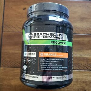 Beachbody Performance Post workout Recover Orange BEST BY *12/21* BRAND NEW