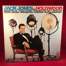 JACK JONES Jack Jones In Hollywood - 1972 USA Vinyl LP  EXCELLENT CONDITION