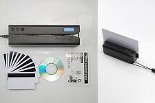 Magnetic Card Writer Encoder And Portable Reader Bundle MSR605X MiniDX4