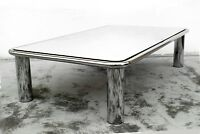 Gianfranco Frattini big mirror coffee table 621 years 70 by Cassina Italy