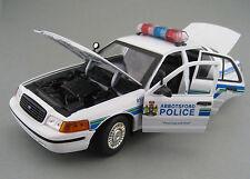 Ford Crown Victoria Interceptor  Abbotsford Police  Motor Max  1:18  OVP  Neu
