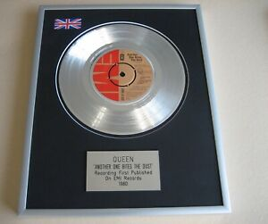 QUEEN Another One Bites The Dust PLATINUM PRESENTATION DISC