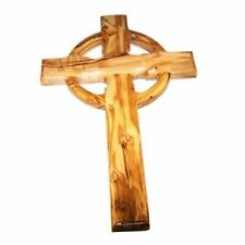 Olive Wood Celtic Cross (10 Inches) CC1001