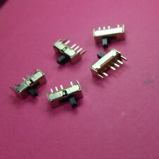 5 of SS13D07G4 3 Position Slide Switch SPDT 1P3T 6 Pin PCB Panel Mini Vertical