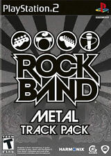 Rock Band: Metal Track Pack PS2 New Playstation 2