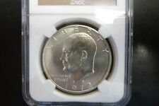 1972-S Silver Eisenhower Dollar Graded By NGC MS 66