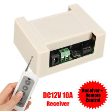 10A DC12V Motor Switch Receiver + Remote Control For Electric DC Linear Actuator