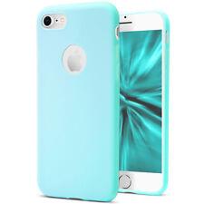 Soft Cover For iPhone 7 8 7+ 8+ Phone TPU Rubber Skin Bumper Plain Mobile Case