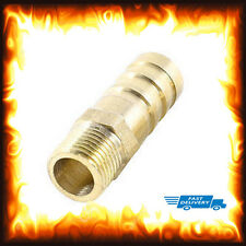 "1/8"" BSP to 10mm Brass Male Barb Hose Tail Fitting Fuel Air Gas Water Hose Oil"