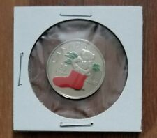 2005P Canada 25 Cent Holiday Coloured Coin