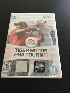 Tiger Woods PGA Tour 11 - Nintendo Wii 100% BRAND NEW Free Shipping