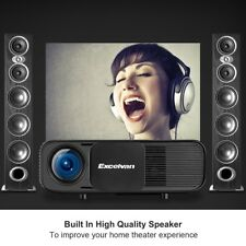 3200 Lumens LED 1080P HD 3D Home Theater Projector HDMI/USB/ATV/AV/VGA 260'' New