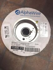 AlphaWire 26 AWG Yellow - New 1000' Spool  (304.8 Meters) - Part # 6711