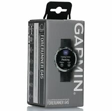 Garmin - Forerunner 645 GPS Heart Rate Monitor Running Watch - Black
