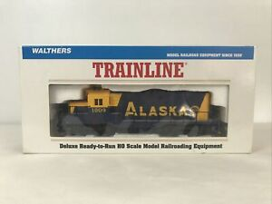 HO scale Walthers Trainline Alaska Railroad EMD GP9M Locomotive 1809 engine