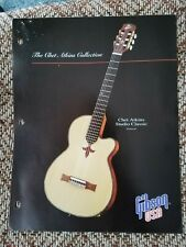 1992 Gibson Guitars Dealer Info Sheet for Chet Atkins Studio Classic Case Candy