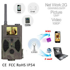 HC-300M HD Hunting Trail Digital Animal Camera Scout Infrared 940nm 12MP GSM