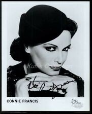 Connie Francis - Signed Autograph Headshot Photo - When Boy Meets Girl