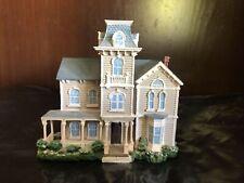Victorian Sculptured Miniature House Franklin Mint 1840-1855 Italianate