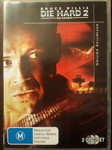 DIE HARD 2 : DIE HARDER - DVD  R4 - Bruce Willis / 2-DISC DEFINITIVE EDITION