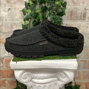 New - Dearfoams Men's Memory Foam Slippers Indoor / Outdoor 2020 - Pick Size