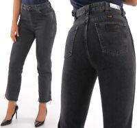 Wrangler Damen Jeanshose Retro Straight Midnight Stone Grau W25 - W32