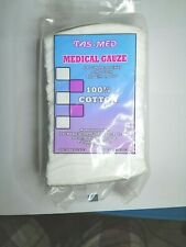 New Medical Gauze 100% Cotton Safe Wound Care First Aid Medical Supply 100pcs