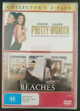 Pretty Woman/Beaches. New & sealed DVD 2-Pack. Region 4 PAL. Free postage!