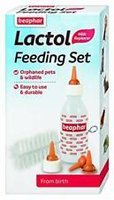 Beaphar Lactol Feeding Set from Birth Bottle Brush Teats - Pets and Wildlife