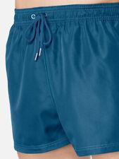 Sloggi swim iced aqua boxer mens swimming trunks boxer trunks lined Bademode M