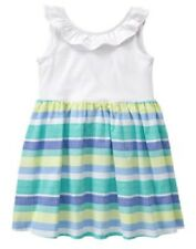Gymboree Tide Pool Sleeveless Striped Dress Infant Baby Girl 6-12 Months NEW