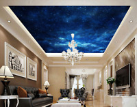 3D Sky Full Of Stars 8 Wall Paper Wall Print Decal Wall Deco AJ WALLPAPER Summer